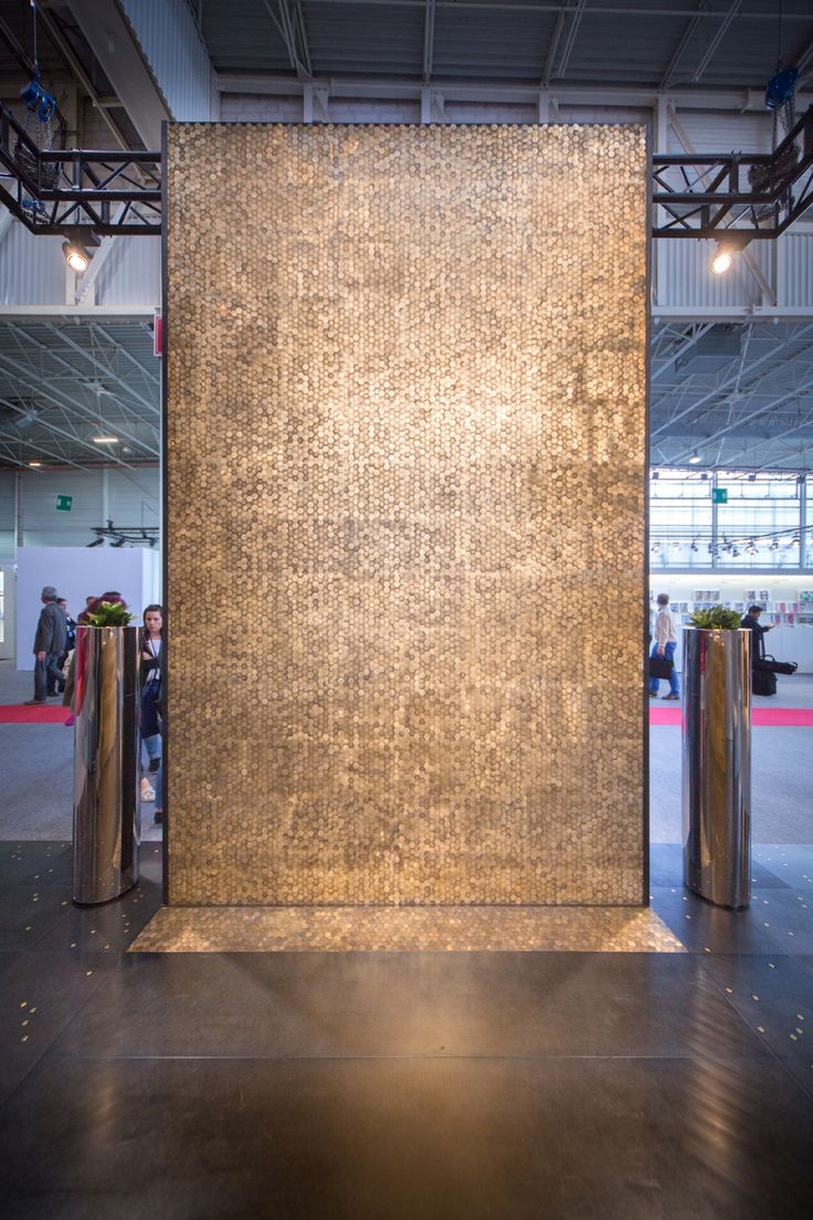 COPYCAT #floor #wallcovering #Decastelli at Maison&Objet 2015 #iron ph: Stefano Borghi