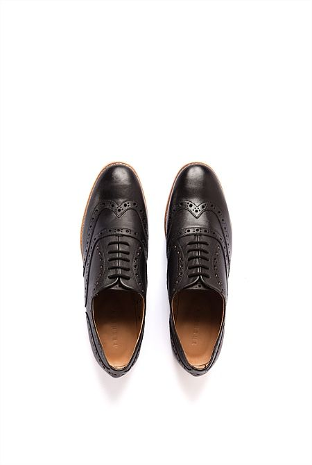Perforated Brogue - from Trenery