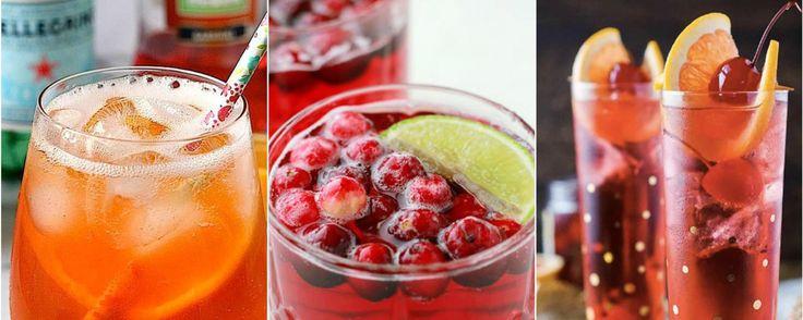 3 összetevős nyári koktélok: 1. Prosecco + málna sorbet + friss málna 2. Margarita: Tequila + Cointreau narancslikőr + frissen facsart citromlé. 3. Pezsgő + áfonyalé + lime 4. Pezsgő + grenadine + koktélcseri 5. Vodka + grapefruitlé + eperpüré 6. Gin szódával + vérnarancs 7. Campari + vermut + prosecco 8. Tequila + limelé + ubi 9. Whiskey + ananászlé + citrom 10. CubaLibre: rum + gyomorkeserű + cola 11. Aperol spritz (szóda, prossecco)