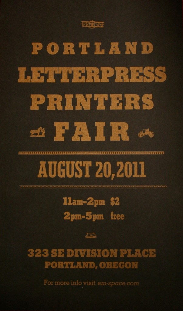 letterpress printers fair topher martini graphic designweb designtypography designproject ideasdesign - Web Design Project Ideas