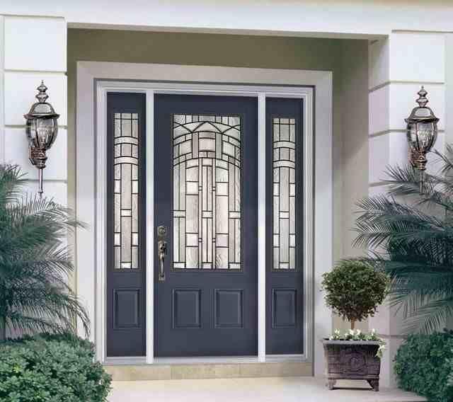 modern exterior metal doors - Modern Exterior Metal Doors