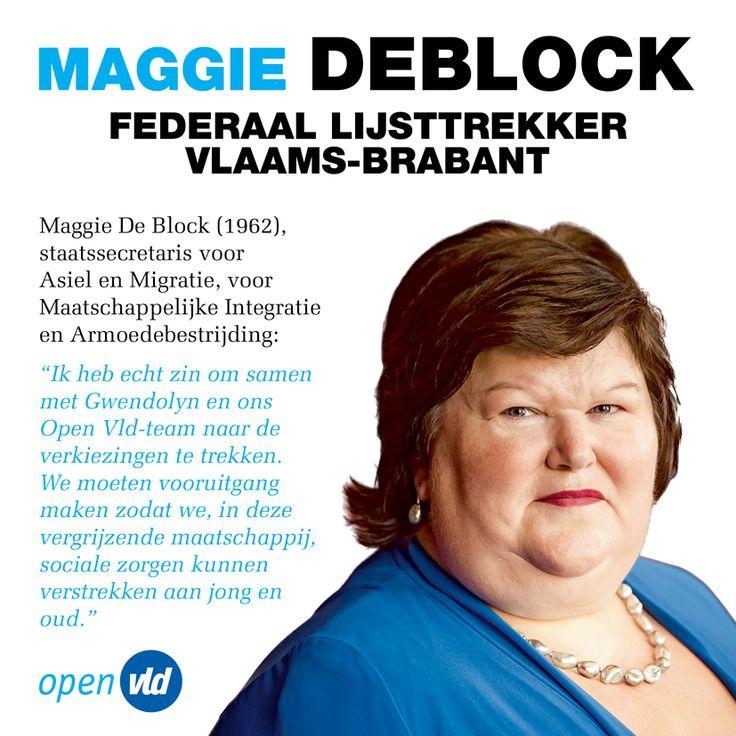 Vlaams-Brabant, Maggie De Block