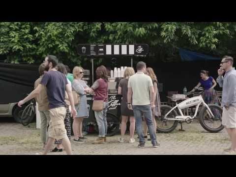 Professional Coffee Cart & Coffee Bike by BizzOnWheels