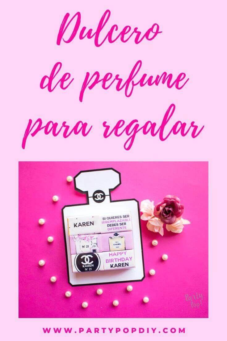 Dulcero de chanel para regalar. #DIY #DULCEROS #SORPRESAS #FIESTAS #QUINCES Perfume, Baby Shower, Chanel, Diy, Cakes, Sachets, Christening, Storage, Crates