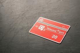 Telefoonkaarten, vooruitziende mensen hadden er vroeger altijd één op zak!