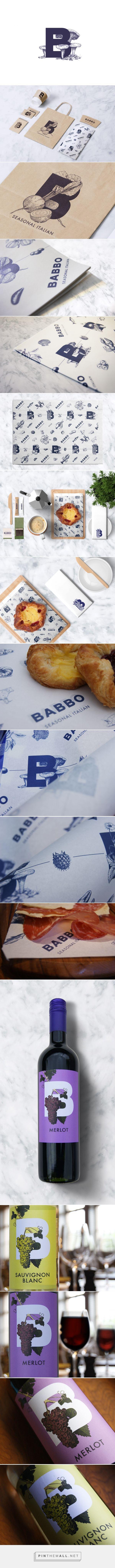 BABBO - Seasonal Italian - Packaging of the World - Creative Package Design Gallery - http://www.packagingoftheworld.com/2016/11/babbo-seasonal-italian.html