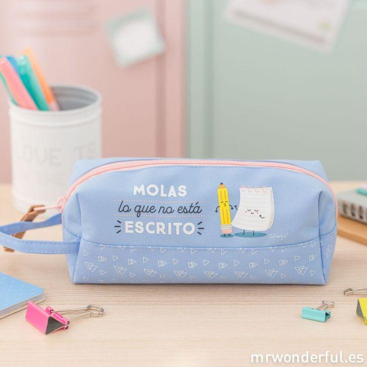 Estuche grande - Molas lo que no está escrito #case #mrwonderfulshop #design