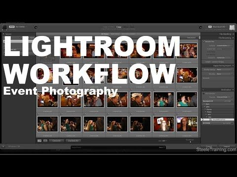 Lightroom Walk Through – Event Photography Workflow with Phil Steele
