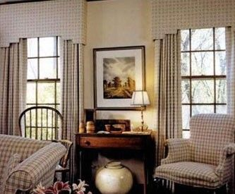 Ashburn Upholstered Cornices | Window Treatments | Leesburg Sterling VA