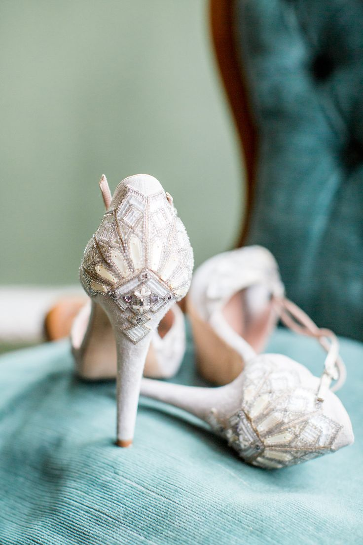 Beautiful detailed bridal shoes by Emmy London Photography - PHILIPPA SIAN PHOTOGRAPHY Venue - AUDLEY END HOUSE Videography - ASH VIDEOGRAPHY Styling and Coordination - FLEUR & FIG Bridalwear - JESSICA TURNER DESIGNS Bridal Shoes - EMMY LONDON Flowers - VIOLETS AND VELVET Cake - THE CUSTOM CAKE BOUTIQUE Linen, Tables, Chairs, Plates - THE EVENT HIRE COMPANY Cutlery & Glasswear - CLASSIC CROCKERY Stationery -  THE GOLDEN LETTER Jewellery/Engagement Ring - DAINTY LONDON Hair Accessories…