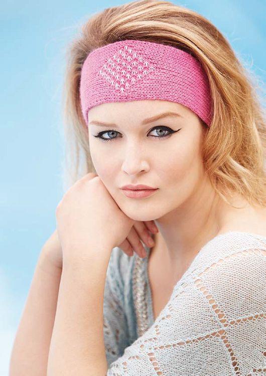 Sandrine Headband in Rowan Finest - Free Pattern