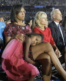 how cute is sasha obama?!