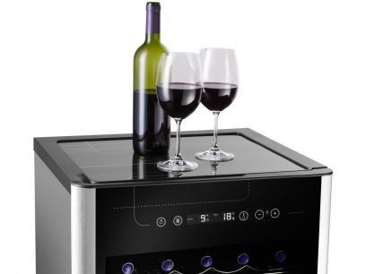Adega Climatizada Electrolux 29 Garrafas ACD29 - com Compressor e Painel Touch Control com as melhores condições você encontra no Magazine Compraaas. Confira!
