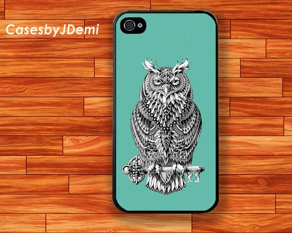 Owl iPhone 4 /4S Case strigiformes iphone 5 /5C/ by CasesByJDemi, $8.99
