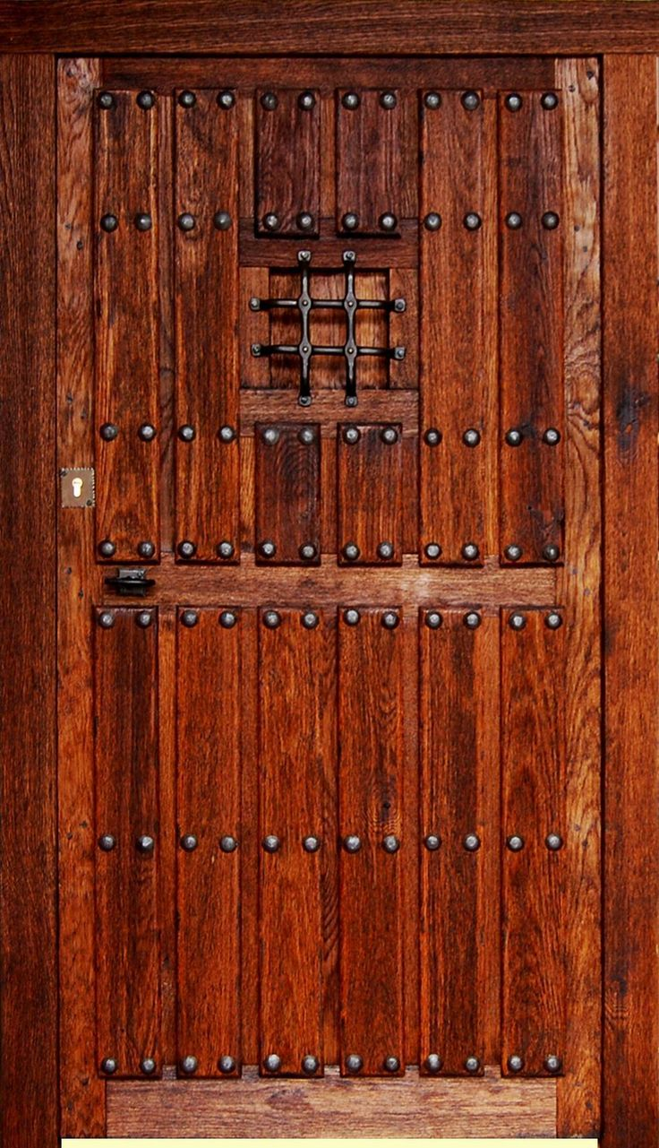17 mejores ideas sobre puertas r sticas en pinterest - Puertas de madera exteriores ...