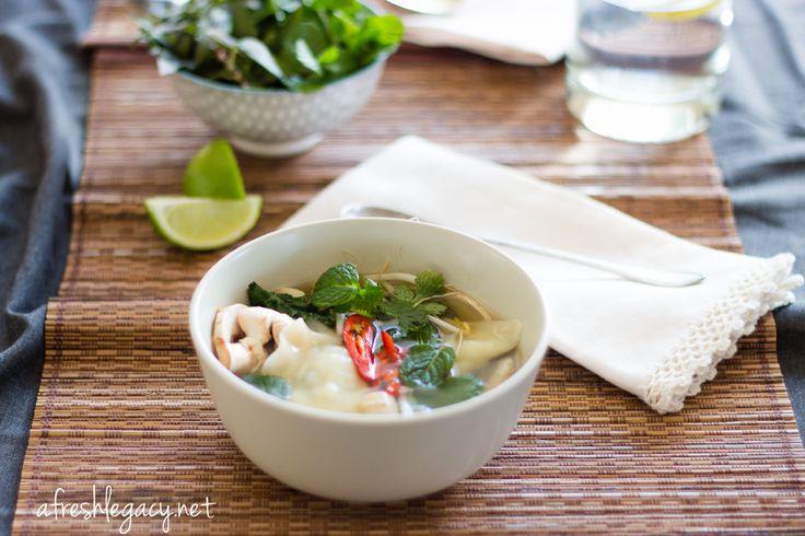 Pork Dumpling Soup   Soups   Pinterest