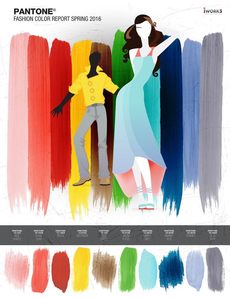 Pantone Spring 2016 Fashion Report