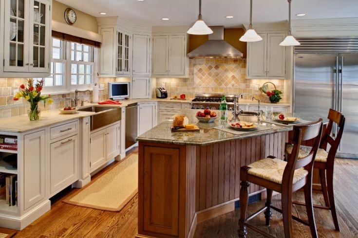 Inspirational Irregular Shaped Kitchen Islands Allowed To Help