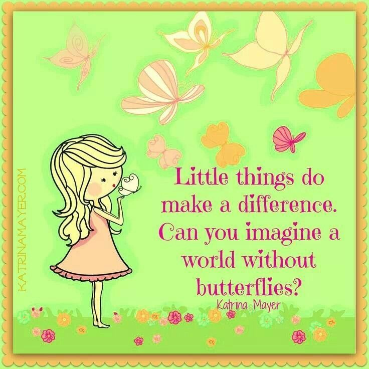 Butterfly And Inspirational