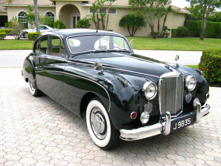1959 Jaguar MK 9 - my FIRST Love - our family car when I was a little guy ...