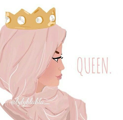 Queen and hijab afbeelding