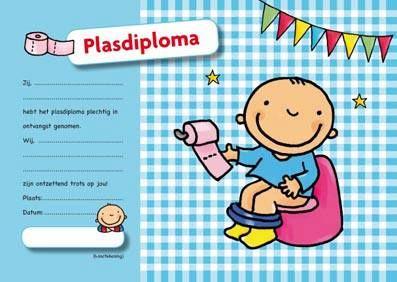Plasdiploma voor peuters