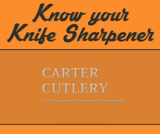 KnifePlanet had the pleasure to ask some questions to Murray Carter from Carter Cutlery. Read his insights and tips on his knife sharpening technique.