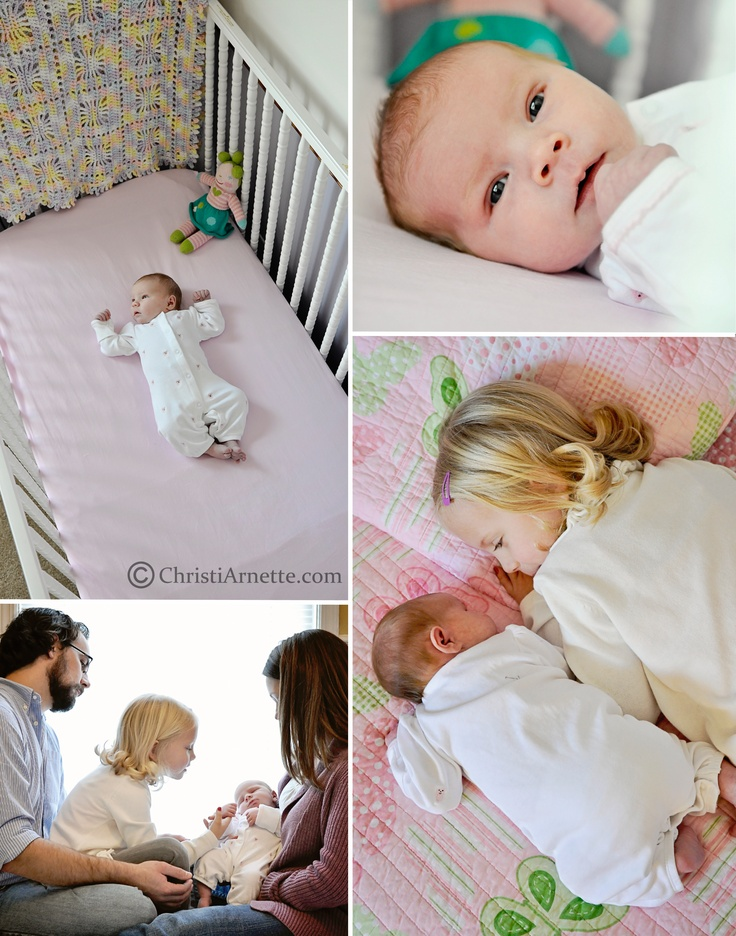 Lifestyle newborn photography at home session