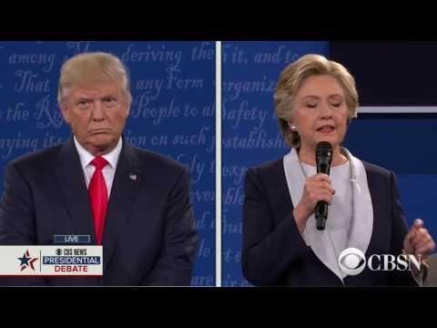 Donald Trump vs Hillary Clinton - Second Presidential Debate - Washington University - St. Louis, MO - October 9, 2016