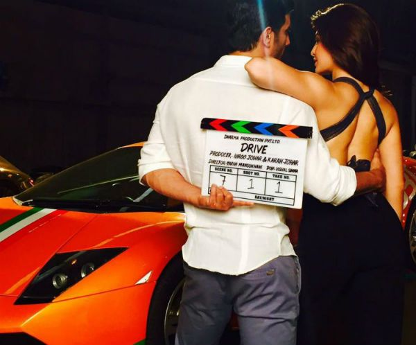 Sushant Singh Rajput and Jacqueline Fernandez' 'Drive' looks sexy as hell – view pic #FansnStars