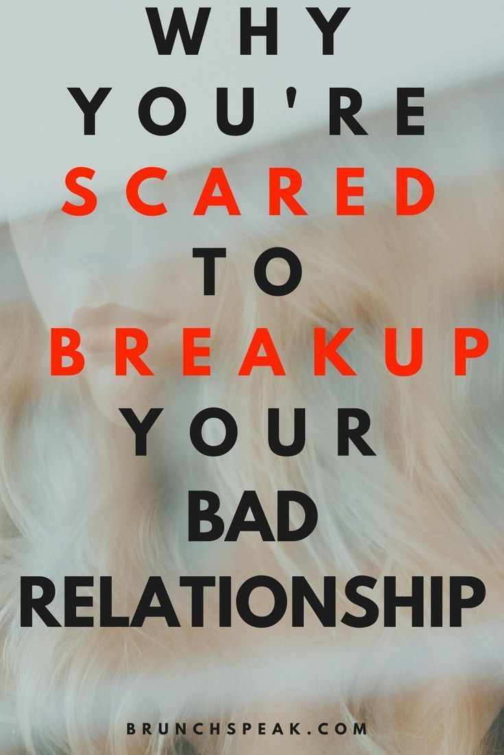 Fear of dating after breakup