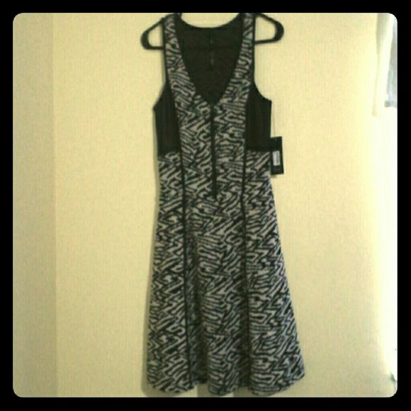 Jessica Simpson - Bristal Dress White smoke maze zebra print dress ...