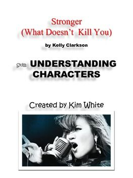 """""""Strong"""" by Kelly Clarkson Song Lyrics Understanding Characters"""