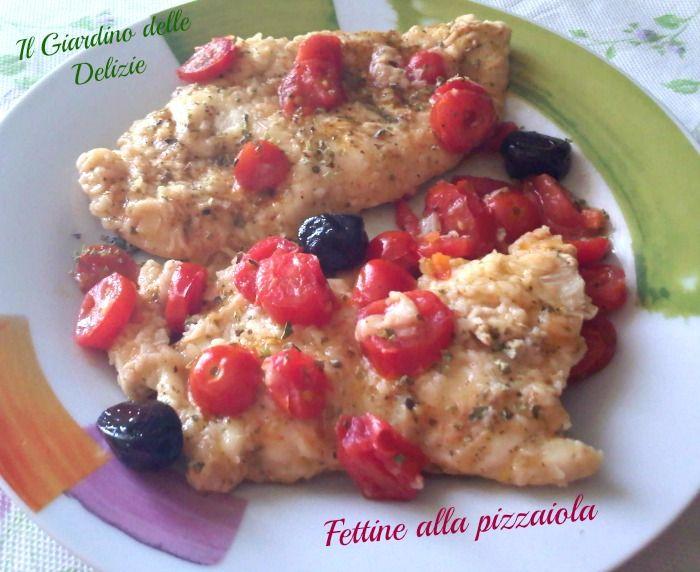 Fettine alla pizzaiola/microonde
