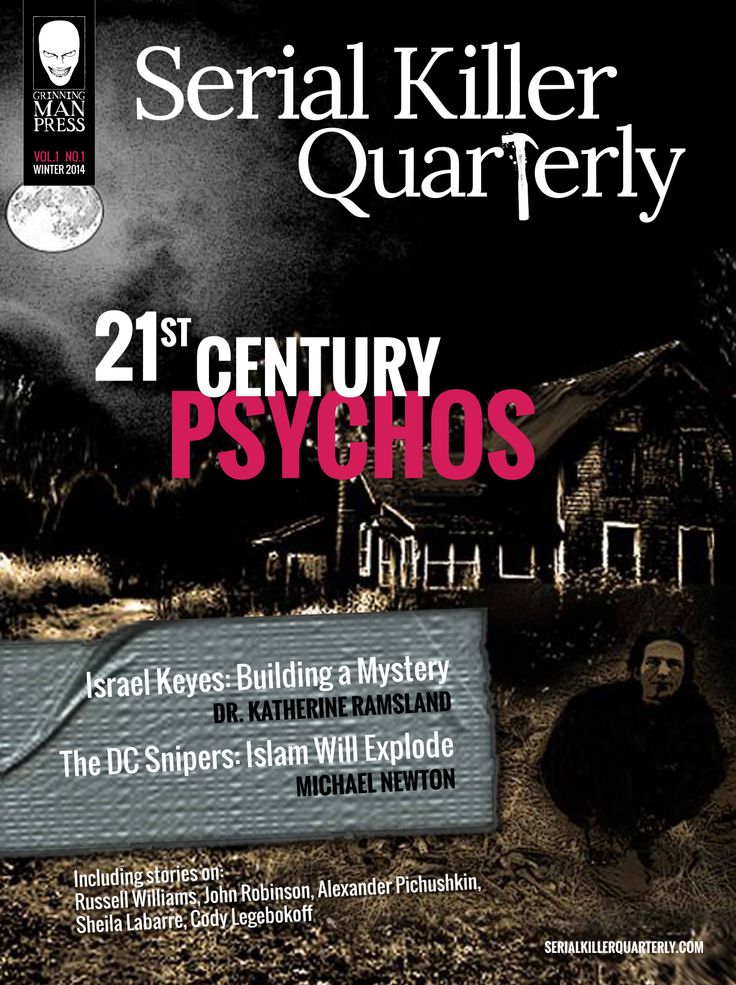 SERIAL KILLER QUARTERLY- Subscribe Now!  Issue #1 Serial Killer Quarterly – the killer new e-magazine is here! 76 Pages of Murder and Mayhem! http://www.serialkillerquarterly.com/