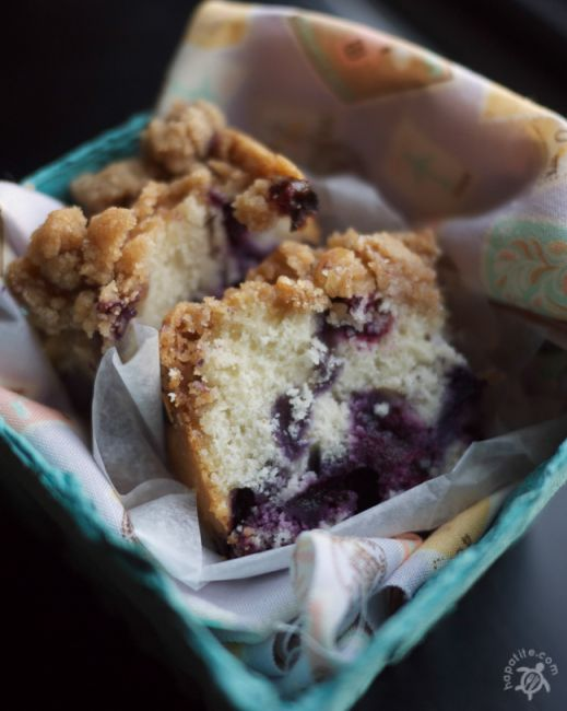 """Blueberry Coffeecake """"This blueberry coffee cake recipe has been in my family for many years. Its xeroxed copy has """"Excellent!"""" written all over it, and it definitely is""""."""