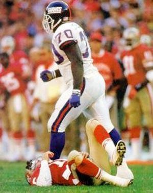 A BIG Isagenix Welcome to 2-Time Super-Bowl Champion NY Giant...Leonard Marshall.