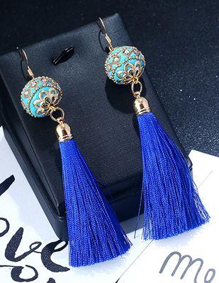 Ball Shape Earrings Blue | Anting | habibstore3.com Grosir Fashion Termurah dan Terbesar di Indonesia