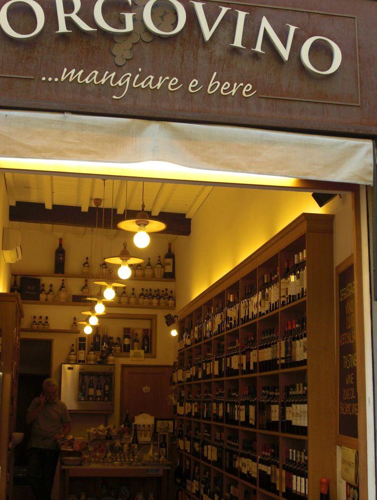 Boutique de vin - Toscane