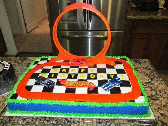 Hot Wheels Cake Decorating Ideas