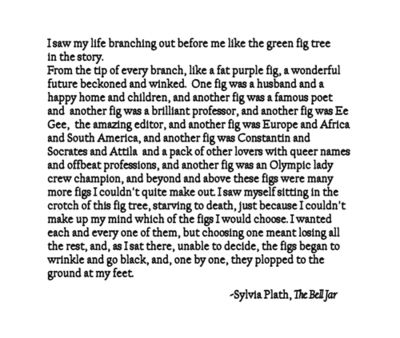 The Bell Jar ~ Sylvia Plath I hadn't wanted to read this, but I do now.