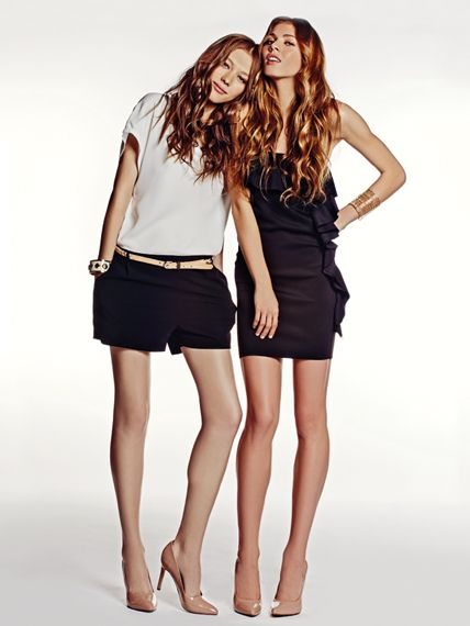 It takes two to #fashion!