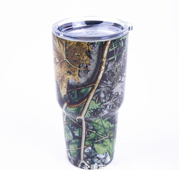 Printed Yeti Rambler 30 oz in 03 - Leaf Branch