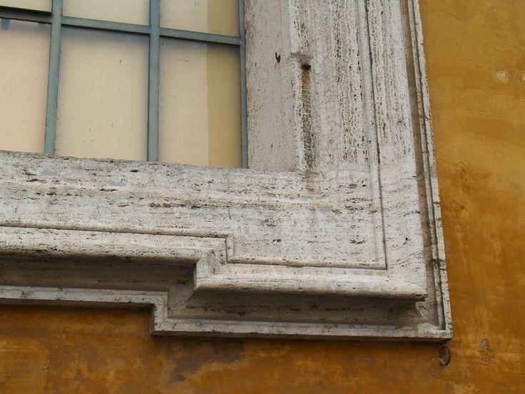 Ventana. Ciudad del Vaticano