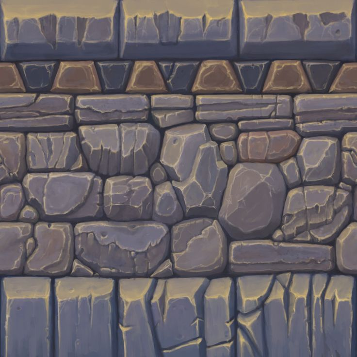 ArtStation - Tiling Dungeon Texture, Nathan Brandes