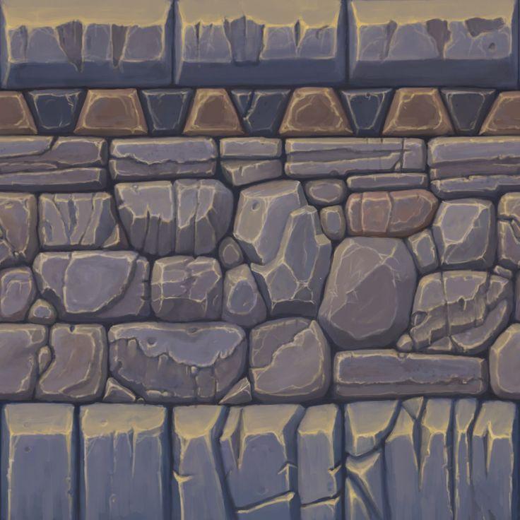 ArtStation - Tiling Dungeon Texture, Nathan Brandes