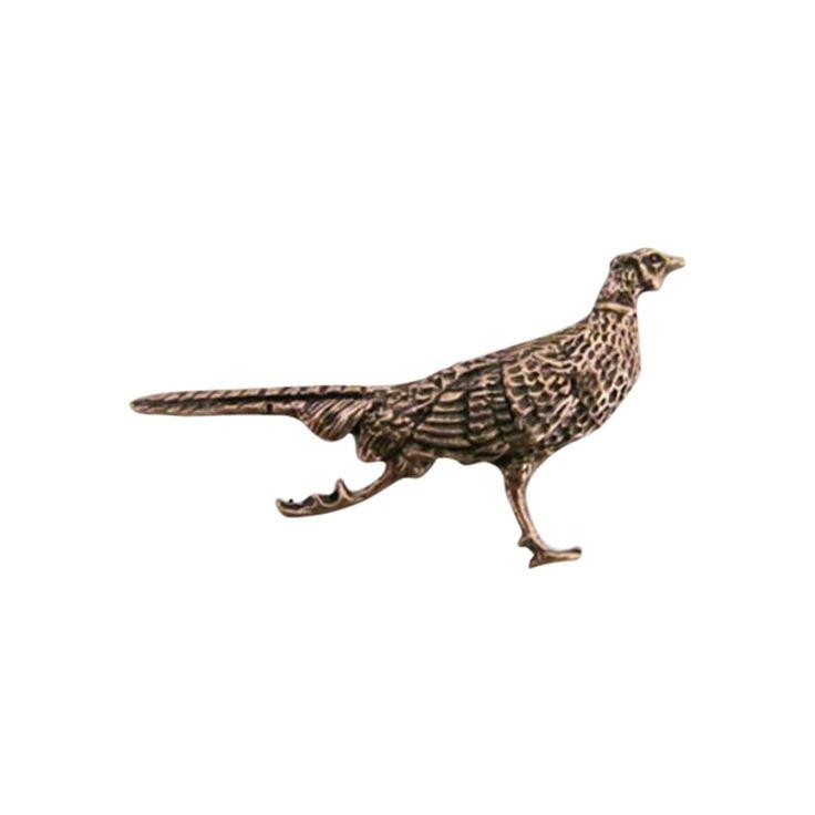 Copper ~ Pheasant Running ~ Refrigerator Magnet ~ Bc024M