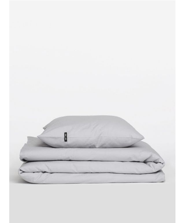 Pure Cotton Bedding Set Grey designed by HOP Design made in Poland as part of Home Accessories and Bed & Bath and Bed Linen tagged Scandinavian bedroom and Simple & Clean designs - image 6 on CROWDYHOSUE