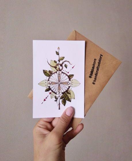 как изготовить открытку почтовую любите манты