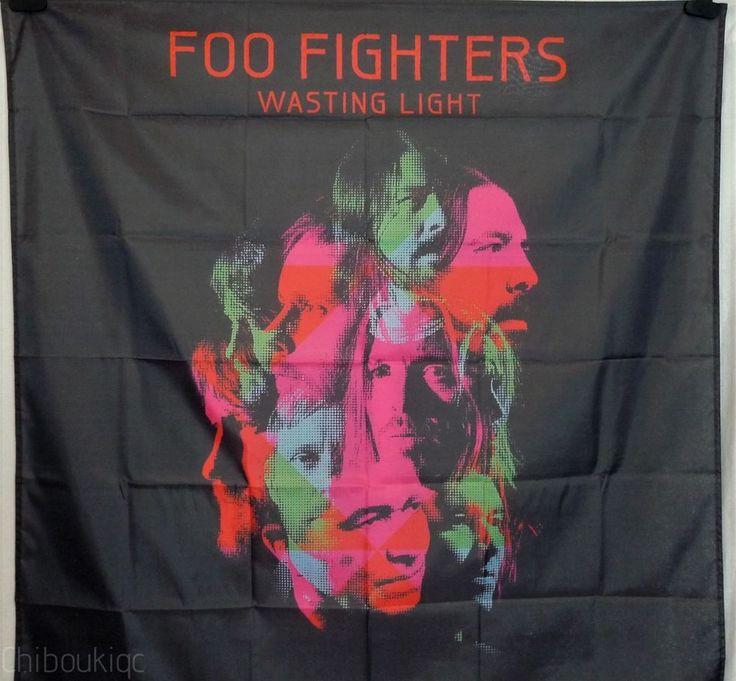 FOO FIGHTERS Wasting Light HUGE 4x4 BANNER poster tapestry cd album cover art | eBay